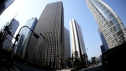 Shinjuku Center Mode Gakuen Cocoon skyscraper Tokyo Japan