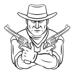 Cowboy Mascot