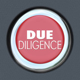 Due Diligence Car Start Button Research Company Merger Acquisiti poster