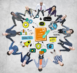 Business People Training Team Support Success Concept