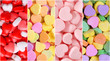 Heart Candy Background Collection. Valentines Day