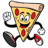 Pizza Running - 76953464