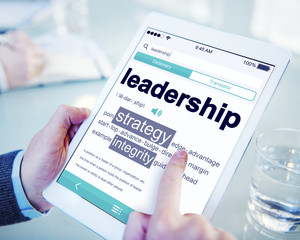 Digital Dictionary Lead Strategy Integrity Leadership Concept