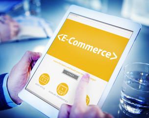 E-Commerce Shopping Online Contemporary Concept