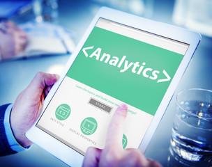 Analytics Business Technology Analyzing Data Concept