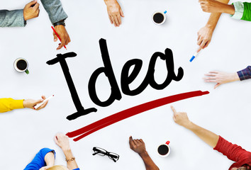 Diversity People Working Brainstorming Meeting Idea Concept