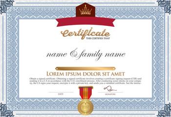 Certificate Design Template.