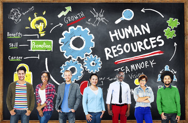 Human Resources Employment Teamwork Education Learning Concept