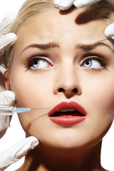 Woman Getting Injectables