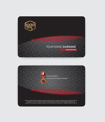 Modern Luxury Business Cards Suitable for modern business.