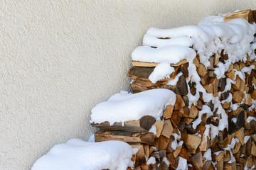 Brennholz für kalte Wintertage
