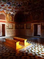 インドの寺院内部
