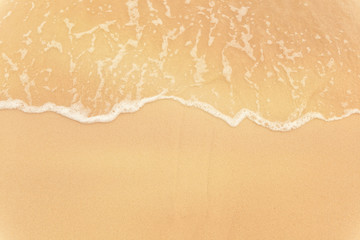 Marine background and texture, wave and sand