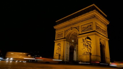 Arc de triumph-Paris France.