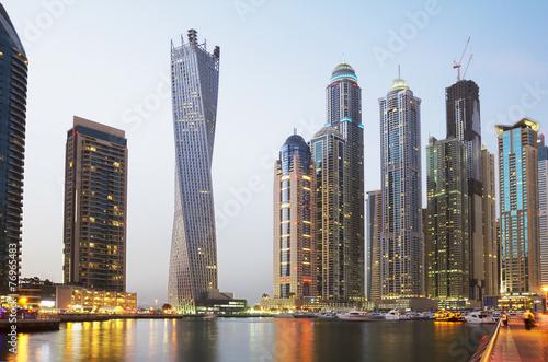 Fototapety, obrazy : Обьединённые Арабские Эмираты. Набережная Дубая.