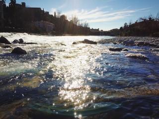 Riflessi sul fiume Brenta