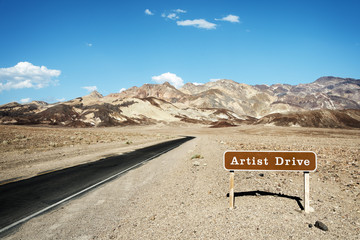 Road to Artist Drive