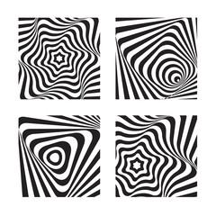 Optical art style