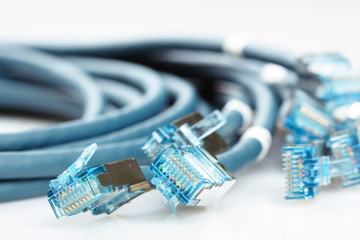 network cable with RJ45 connectors