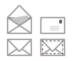 Enveloppes courrier picto vecteurs 2