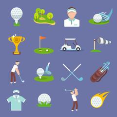 Golf Icon Flat