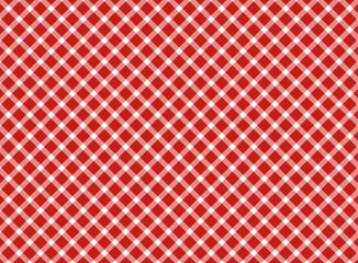 Retro Tischdecke rot weiß