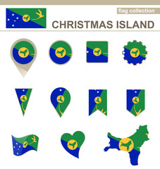 Christmas Island Flag Collection