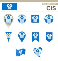 CIS Flag Collection