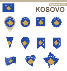 Kosovo Flag Collection