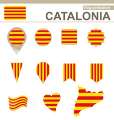 Catalonia Flag Collection