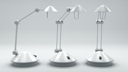 Lampe, verschiedene Ansichten