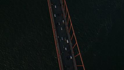 Aerial view Golden Gate Bridge, San Francisco, USA