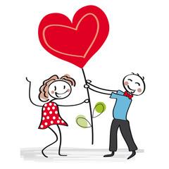 Valentinstag, Liebespaar