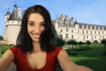 Selfie Chenonceau