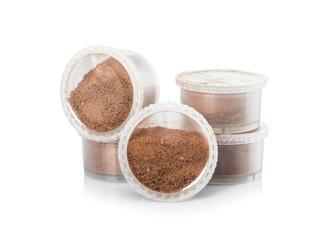 Capsules of hot chocolate