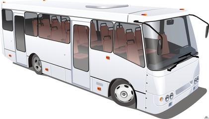 Векторное изображение автобуса