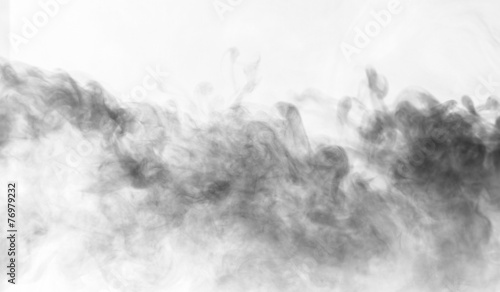 Foto op Canvas Rook Abstract smoke moves