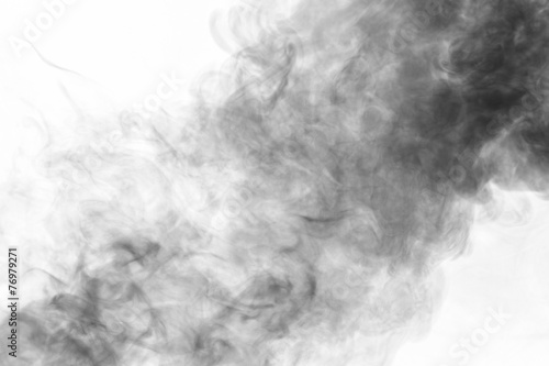 Fotobehang Rook Abstract smoke moves