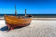 canvas print picture - Urlaub an der Ostseeküste