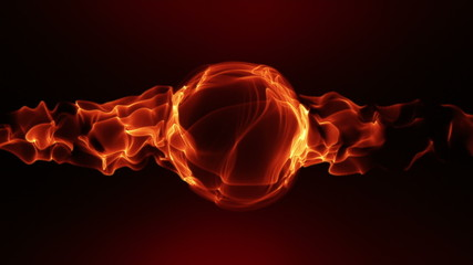 """abstract background with """"flames""""; loopable"""