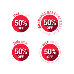 Sale 50% Off Red Labels