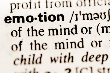 word emotion