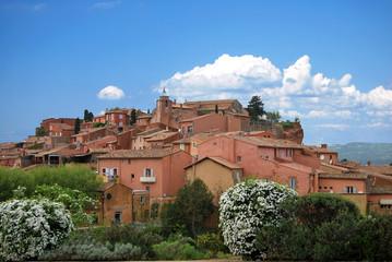 Village de Roussilon, Provence, France