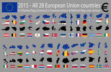 2015 - All 28 European Union countries