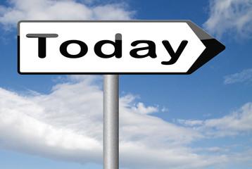 today agenda