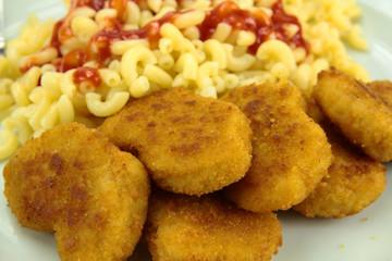 nuggets et coquillettes