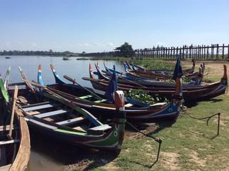 Myanmar boat