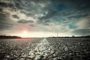Route et horizon