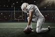 Leinwandbild Motiv Football Player