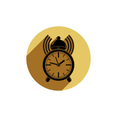Alarm-clock 3d symbol, best for use in graphic design. Call the